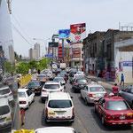 Das übliche Verkehrschaos (Standard traffic jam)