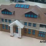 フルカラー建物模型