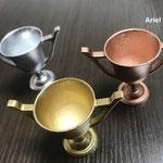 金・銀・銅、ゴールド/シルバー/ブロンズのメッキ調塗装