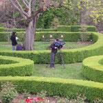 Film d'entreprise dans les jardins du Tarn
