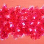 Undulation #37,  Acrylic on canvas, 158×227mm