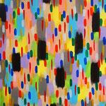 楽園の雨 アクリル、キャンバス 910×727mm