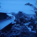 アトリエからの風景~雪の日に~#2 / A view from the studio - snow day #2 -