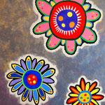 flower #38 アクリル、キャンバス 1166×910mm