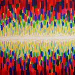 宇宙模様 アクリル、キャンバス 1455×1122mm