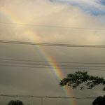 アトリエからの虹 / Rainbow from my atelier
