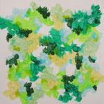 Nature #27 アクリル、キャンバス 315×315mm