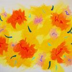 flower #37 アクリル、キャンバス 318×410mm