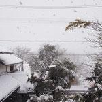アトリエからの風景~雪の日に~#3 / A view from the studio - snow day #3 -