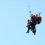 Seilflüge mit dem BMI Hubschrauber