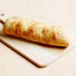 石窯焼き天然酵母チャバタ (ほんのりオリーブオイルの香りと塩味のするパン!)