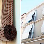 Detalle de persiana alicantina o de cadenilla en PERSIATEC (Murcia)