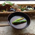 古代米とともに和蔵のお惣菜をどうぞ