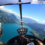 Rundflug über Seen