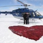 Heiratsantrag bei Rundflug