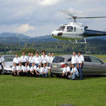 Firmenausflug Helikopter