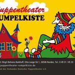 Design Logo, Plakate, Drucksachen, Webauftritt, Puppentheater Rumpelkiste Norden