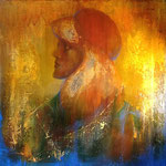 Profile 5 (oil on canvas 40x40cm)