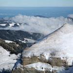 Blick vom Hohen Kasten  1'794 m ü. M