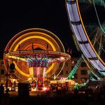 Lichtertanz beim Jahrmarkt St. Gallen