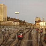 Bahnhofseinfahrt St. Gallen
