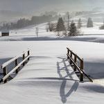 Winterandschaft in der Nähe von Gonten AI (CH)