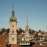 Türme der Innenstadt - Stiftskirche St. Gallen - St. Laurenzen - St. Mangen