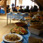 Leckeres Foodsharing-Buffet