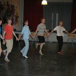 een zondagse dansavond, juni 2014