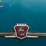 """Azerbaijan - Detailansicht eines """"Oldtimers"""" in Quba"""
