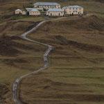 Azerbaijan - Am gegenüberliegenden Hang bei Xinaliq