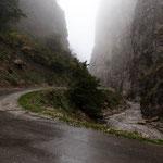 Azerbaijan - Auf der Fahrt von Quba nach Xinaliq