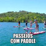 PASSEIOS COM PADDLE