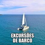 PASSEIO DE BARCO PARA AS 2 ILHAS SANTAS