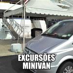 EXCURSÕES PRIVADAS DE MINIVAN / MINIBUS