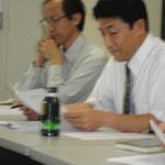 CT2010の教会への共有と適用を発表する米内氏