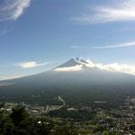 富士山(かちかち山 山頂より)