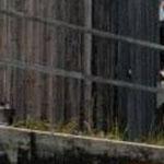 Silo in Teilbereichen angeschüttet, Außen mit Holz verkleidet