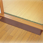 室内の段差解消スロープ取付け