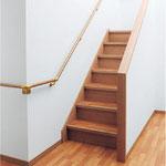 屋内階段の手すり取付け