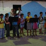 Vorspiel der Flötengruppe...