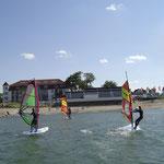 Bild: Spaß in Niendorf Ostsee, Surfen,Sup