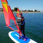 Bild: surfen lernen Timmendorfer Strand,Ostsee, Lübecker Bucht