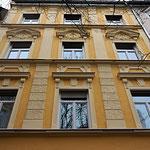 Fassade mit Stuck-Steinstraße-Wörle Maler München