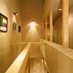 K clinic -階段吹抜け上部