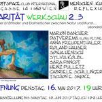 Einladung und teilnehmende KünstlerInnen