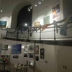 Spiralweg entlang der Galerie