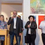 Eröffnungsreden von Personen aus Wirtschaft und Kunst