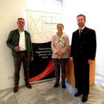 Vernissage-4.5.2016: RednerInnen (li-re) Wassermann, Schreilechner, Bauer