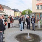 Voitsberg: Besucher vor meinem Bild